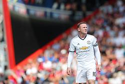 Wayne Rooney of Manchester United looks on - Rogan Thomson/JMP - 14/08/2016 - FOOTBALL - Vitality Stadium - Bournemouth, England - Bournemouth v Manchester United - Premier League Opening Weekend.