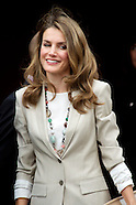100313 Princess Letizia at the the Red Cross Fundraising Day