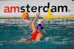 06-01-2008 WATERPOLO: EKT NEDERLAND - FRANKRIJK: AMSTERDAM<br /> De Nederlandse waterpolosters hebben het kwalificatietoernooi voor het Europees kampioenschap gewonnen. Ook Frankrijk werd verslagen met 13-2 / Mieke Cabout <br /> ©2007-WWW.FOTOHOOGENDOORN.NL