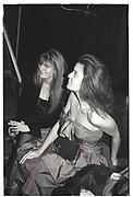 SUSANNAH CONSTANTINE, CAROLINE KELLETT, KENSINGTON BALL. 1987