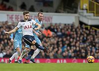 Football - 2016 / 2017 Premier League - Tottenham Hotspur vs. Stoke City<br /> <br /> Harry Winks of Tottenham at White Hart Lane.<br /> <br /> COLORSPORT/DANIEL BEARHAM