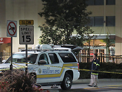 August 27, 2017 - Paramus, New Jersey, United States - Police are investigating a crash outside a shopping mall in New Jersey that left two people dead at Bergen Town Center Mall in Paramus, New Jersey on August 27, 2017. (Credit Image: © Kyle Mazza/NurPhoto via ZUMA Press)
