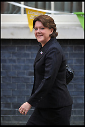 Maria Miller arrives at No10 Downing on the day of the 1st Coalition Government Cabinet reshuffle, London, Tuesday September 4, 2012 Photo Andrew Parsons/i-Images<br /> File photo -  Secretary of State for Culture, Media and Sport Maria Miller resigns following expenses allegations. Pictured filed Wednesday 9th April 2014.