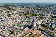 Nederland, Gelderland, Arnhem, 30-09-2015; zicht op de binnenstad van Arnhem.<br /> <br /> View of the city of Arnhem.<br /> luchtfoto (toeslag op standard tarieven);<br /> aerial photo (additional fee required);<br /> copyright foto/photo Siebe Swart