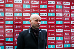 Bristol Rovers manager Paul Tisdale - Rogan/JMP - 30/11/2020 - FOOTBALL - Memorial Stadium - Bristol, England - Bristol Rovers v Darlington - FA Cup Second Round Proper.