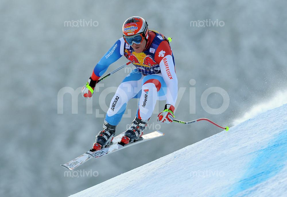 Ski Alpin;  Saison 2007/2008  22.01.2009 69. Hahnenkamm Rennen,  Abfahrt   2. Training   Didier Cuche  (SUI)