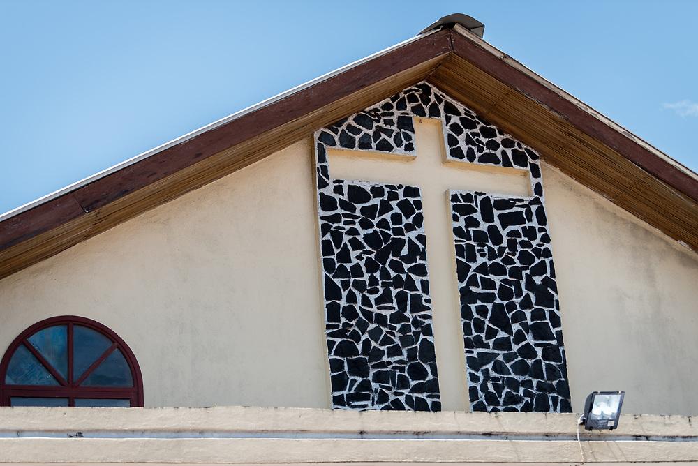 3 November 2019, Monrovia, Liberia: Saint Andrew Lutheran Parish in Monrovia. Part of the Lutheran Church in Liberia, the parish gathers some 220 members for prayer each week.