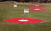 TEXEL - De Cocksdorp - Driving range met targetsGolfbaan De Texelse. COPYRIGHT KOEN SUYK