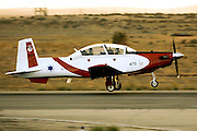 Israeli Air force Flight Academy Beechcraft T-6A Texan II at take off