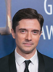 February 17, 2019 - Los Angeles, California, United States of America - Topher Grace in the press room of the 2019 Writers Guild Awards at the Beverly Hilton Hotel on Sunday February 17, 2019 in Beverly Hills, California. ARIANA RUIZ/PI (Credit Image: © Prensa Internacional via ZUMA Wire)