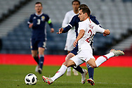 Portugal defender Cedric Soares (21) (Southampton)  during the Friendly international match between Scotland and Portugal at Hampden Park, Glasgow, United Kingdom on 14 October 2018.