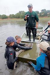 Sean Van Sommeran Photo Identifying Leopard Shark