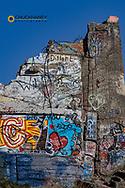 Grafitti at Woodland Park in Kalispell, Montana, USA