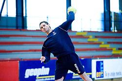 Bostjan Kavas at practice of Slovenian Handball Men National Team, on June 4, 2009, in Arena Kodeljevo, Ljubljana, Slovenia. (Photo by Vid Ponikvar / Sportida)