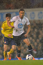 Tottenham's midfielder Nacer Chadli   - Photo mandatory by-line: Mitchell Gunn/JMP - Tel: Mobile: 07966 386802 07/04/2014 - SPORT - FOOTBALL - White Hart Lane - London - Tottenham Hotspur v Sunderland - Premier League