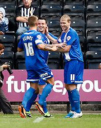 Peterborough's Grant McCann celebrates his goal  - Photo mandatory by-line: Matt Bunn/JMP - Tel: Mobile: 07966 386802 10/08/2013 - SPORT - FOOTBALL -  Meadow Lane - Nottinghamshire -  Notts County v Peterborough United - Sky Bet League 1