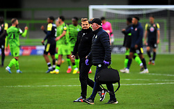 Forest Green Rovers manager Mark Cooper after the final whistle - Mandatory by-line: Nizaam Jones/JMP - 17/10/2020 - FOOTBALL - innocent New Lawn Stadium - Nailsworth, England - Forest Green Rovers v Stevenage - Sky Bet League Two