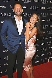 May 26, 2018 - Las Vegas, Nevada, United States of America - Jason ''J'Roc'' Craig and Natalie Casalone attend the Grand Opening of APEX Social Club as part of Palms Casino Resort $620million  renovation on May 25, 2018  in Las Vegas, Nevada. (Credit Image: © Marcel Thomas via ZUMA Wire)
