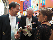 PRINCE PAVLOS OF GREECE; GALEN WESTON; TRACEY EMIN, Royal Academy of Arts Annual Dinner. Burlington House, Piccadilly. London. 6 June 2017