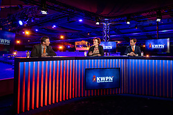 Dekker Charlotte, Versteeg Wim, De Backer Frederik<br /> KWPN Hengstenkeuring 2021<br /> © Hippo Foto - Dirk Caremans<br />  03/02/2021