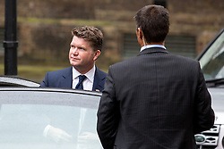 © Licensed to London News Pictures. 22/04/2016. London, UK. United States Ambassador to the United Kingdom Matthew Barzun arrives as US President Barack Obama visits 10 Downing Street for a joint press conference with British Prime Minister David Cameron. Obama is expected to make his case for the UK to remain inside the European Union, as part of his four day tour to the UK. Photo credit : Tom Nicholson/LNP© Licensed to London News Pictures. 22/04/2016. London, UK. US President Barack Obama visits 10 Downing Street for a joint press conference with British Prime Minister David Cameron. Obama is expected to make his case for the UK to remain inside the European Union, as part of his four day tour to the UK. Photo credit : Tom Nicholson/LNP