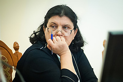 March 27, 2019 - Tambov, Tambov region, Russia - Deputy head of administration of Tambov region Natalia Astafieva (Credit Image: © Demian Stringer/ZUMA Wire)