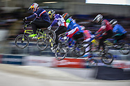 #33 (DAUDET Joris) FRA at Round 2 of the 2019 UCI BMX Supercross World Cup in Manchester, Great Britain