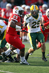 17 November 2012:  Marshaun Coprich, A.J. Van Voorhis during an NCAA Missouri Valley Football Conference football game between the North Dakota State Bison and the Illinois State Redbirds at Hancock Stadium in Normal IL
