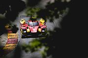 August 5 2018: IMSA Weathertech Continental Tire Road Race Showcase. 52 AFS/PR1 Mathiasen Motorsports, Ligier LMP2, Sebastian Saavedra, Gustavo Yacaman