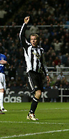 Photo: Andrew Unwin.<br />Newcastle United v Everton. The Barclays Premiership. 25/02/2006.<br />Newcastle's Lee Bowyer.