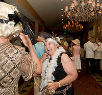 Great Gatsby fund raising event for Winni Playhouse at Church Landing on Lake Winnipesaukee, Meredith, NH.