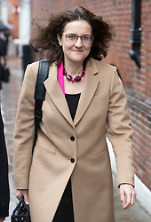 © Licensed to London News Pictures. 20/11/2018. London, UK. Theresa Villiers MP arrives for an ERG press conference near Parliament. Photo credit: Peter Macdiarmid/LNP