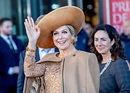Queen Maxima at the award ceremonie Prix de Rome, Amsterdam 31-10-2019