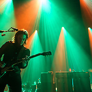 Jim James of My Morning Jacket performs at Merriweather Post Pavilion in Columbia, MD. (Photo by Kyle Gustafson)
