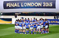 Equipe Clermont - 01.05.2015 - Captains' Run de Clermont avant la finale - European Rugby Champions Cup -Twickenham -Londres<br /> Photo : David Winter / Icon Sport