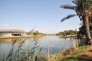 Israel, Tel Aviv, Yarkon River and Ganei Yehoshua park.