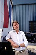 Robert Palmer at home in Nassua Bahamas 1982