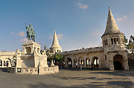 Fisherman's, gate, bastion, Bastion, Budapest, Hungary .<br /> <br /> Visit our HUNGARY HISTORIC PLACES PHOTO COLLECTIONS for more photos to download or buy as wall art prints https://funkystock.photoshelter.com/gallery-collection/Pictures-Images-of-Hungary-Photos-of-Hungarian-Historic-Landmark-Sites/C0000Te8AnPgxjRg