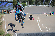 #595 (MOLINA Gonzalo) ARG  at Round 9 of the 2019 UCI BMX Supercross World Cup in Santiago del Estero, Argentina