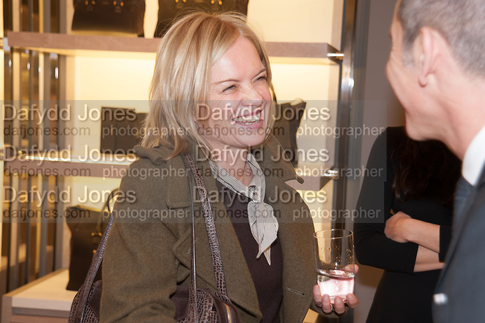 MARIELLA FROSTRUP , Smythson Sloane St. Store opening. London. 6 February 2012.