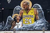NBA-Kobe Bryant Mural-Jun 20, 2020