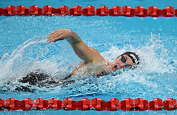 BEIJING, Nov. 11, 2017  Katinka Hosszu of Hungary competes during the women's 200m individual medley final at the FINA Swimming World Cup Beijing in Beijing, China, Nov. 11, 2017. Katinka Hosszu claimed the title of the event in 2 minutes and 04.64 seconds. (Credit Image: © Jia Yuchen/Xinhua via ZUMA Wire)