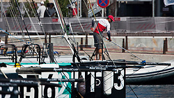 Racing canceled on the second day of the AUDI MedCup Cartagena, Spain, 26th August 2010,  trofeo Caja Mediterraneo, Region de Murcia (24 - 29 August 2010) © Sander van der Borch / Artemis