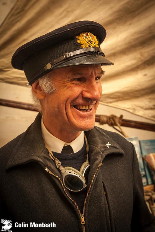 Antarctic sea captain John Parsloe, Explorers and adventurers Victorian festival , Heritage quarter, Oamaru, Otago