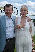 ALEXEI MAUERGRUZ; ALEXANDRA MAUERGRUZ, Cartier Queen's Cup. Guards Polo Club, Windsor Great Park. 17 June 2012