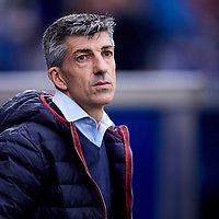 Vitoria, Araba ,Spain, 04/05/2019 . Coach Imanol Alguacil during the LA LIGA SOCCER MATCH between DEPORTIVO ALAVES VS REAL SOCIEDAD at Mendizorrotza stadium.