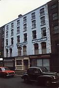 Old amateur photos of Dublin streets churches, cars, lanes, roads, shops schools, hospitals south william st, dublin civic museum, mercey hospital, south kings st, olympia dame st, royal exchange hotel, mk1 ford escort Morris 1000 may 1984