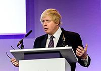 Boris Johnson Global Law Summit in February 2015 at the QEII Centre Photo by Global Law Summit in February 2015 at the QEII Centre