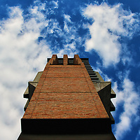"""""""Monolith""""<br /> <br /> The bell tower on the North Campus at the University of Michigan!!<br /> <br /> Architecture: structures and buildings by Rachel Cohen"""