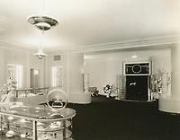 1933 Interior of Max Factor Salon on Highland Ave.